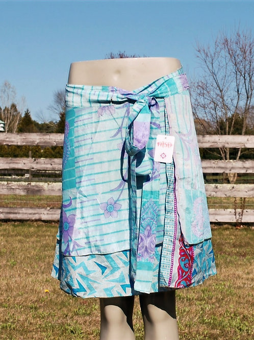 Wrap Skirt - Mini Short