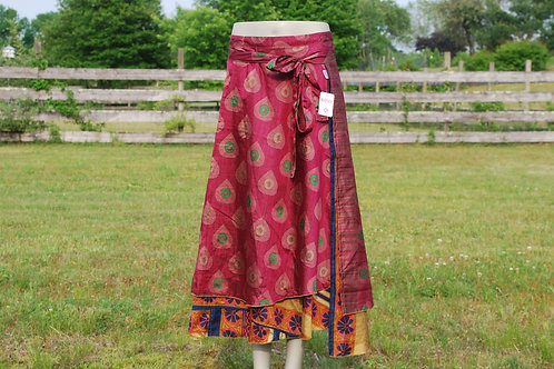 Wrap Skirt - Ankle Long