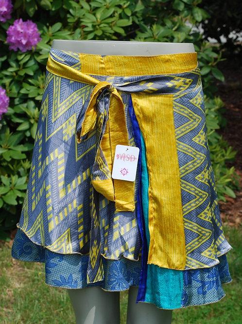 Wrap Skirt - Mini Short