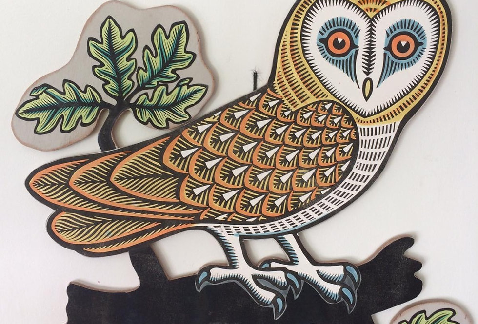 Owl Cutout
