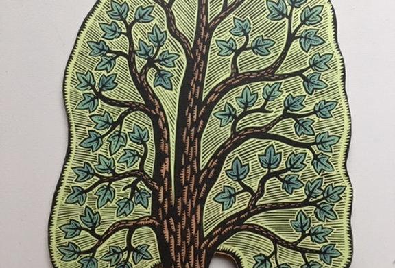 Sycamore Tree Cutout
