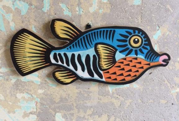 Sharp Nose Puffa-fish