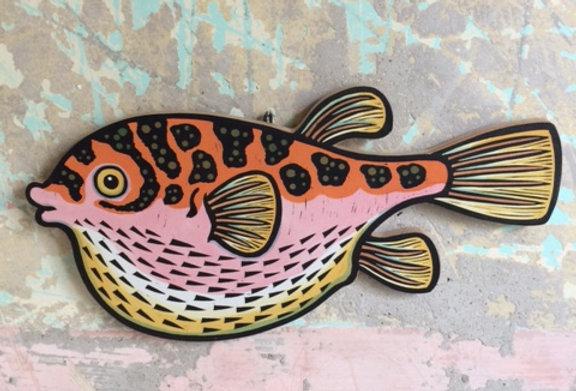 Starry Globe-fish