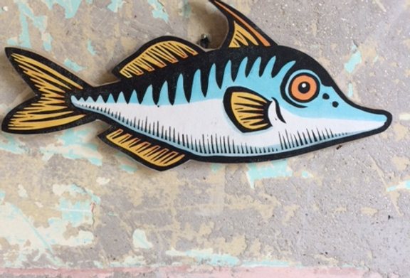 Triple Spine Fish