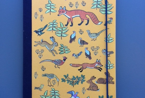 Mr Fox Notebook Lined