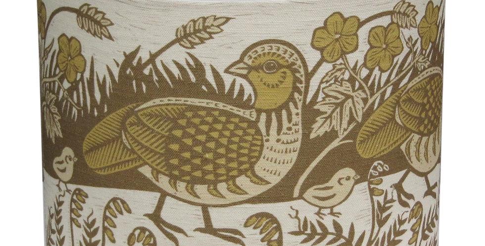 Partridge Lampshade (Chanteuse)