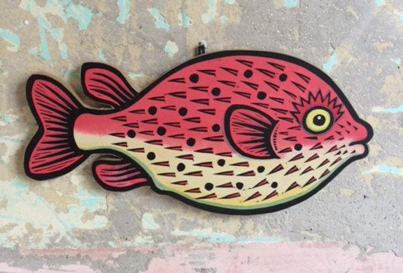 Prickly Balloon Fish