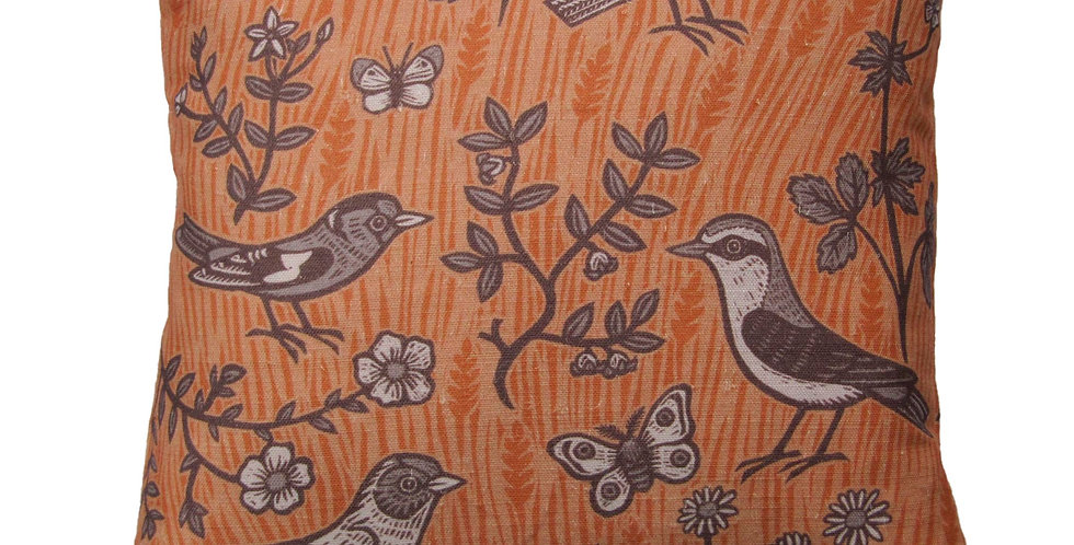 Small Birds (Burnt Orange)