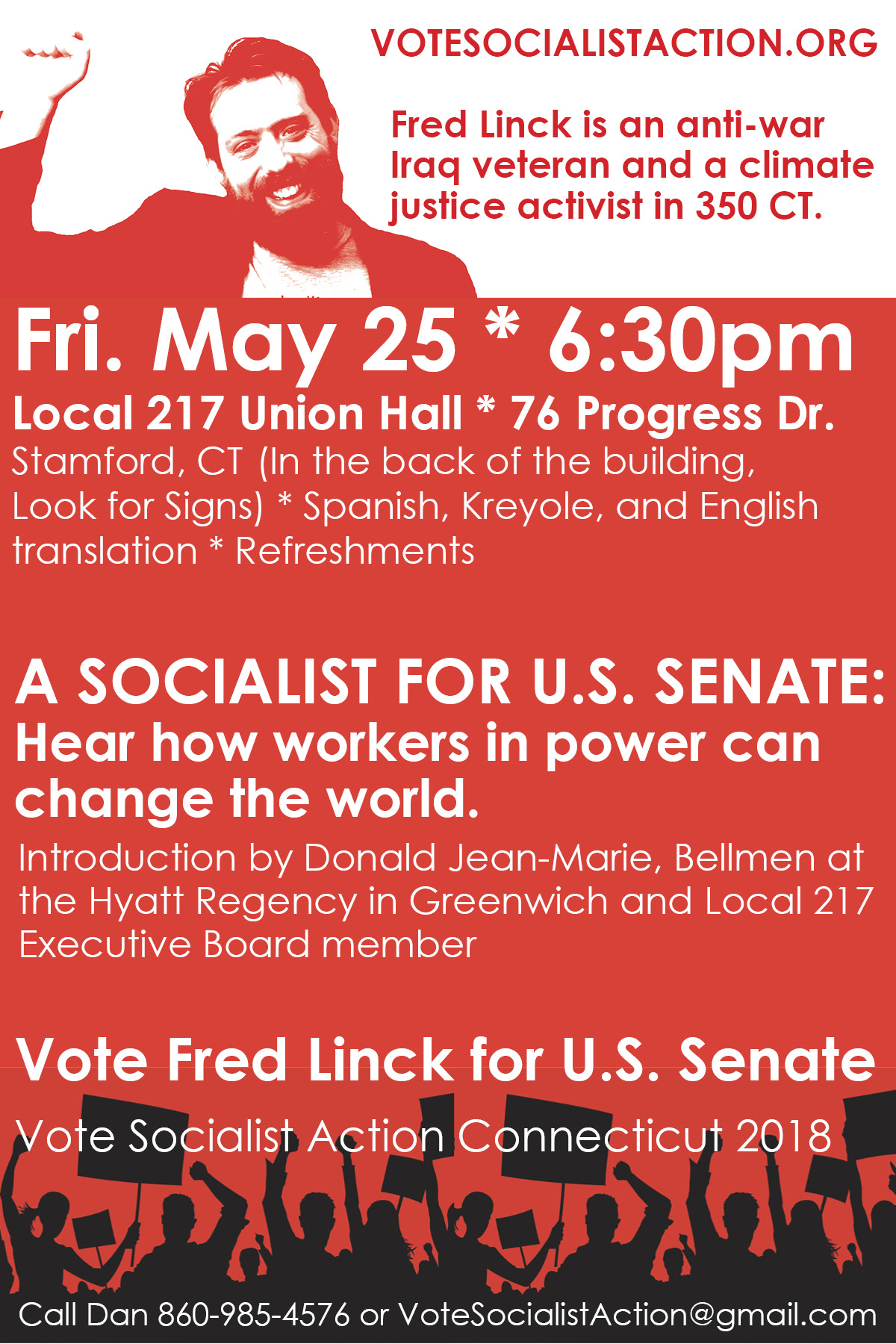 May 25 Stamford, CT