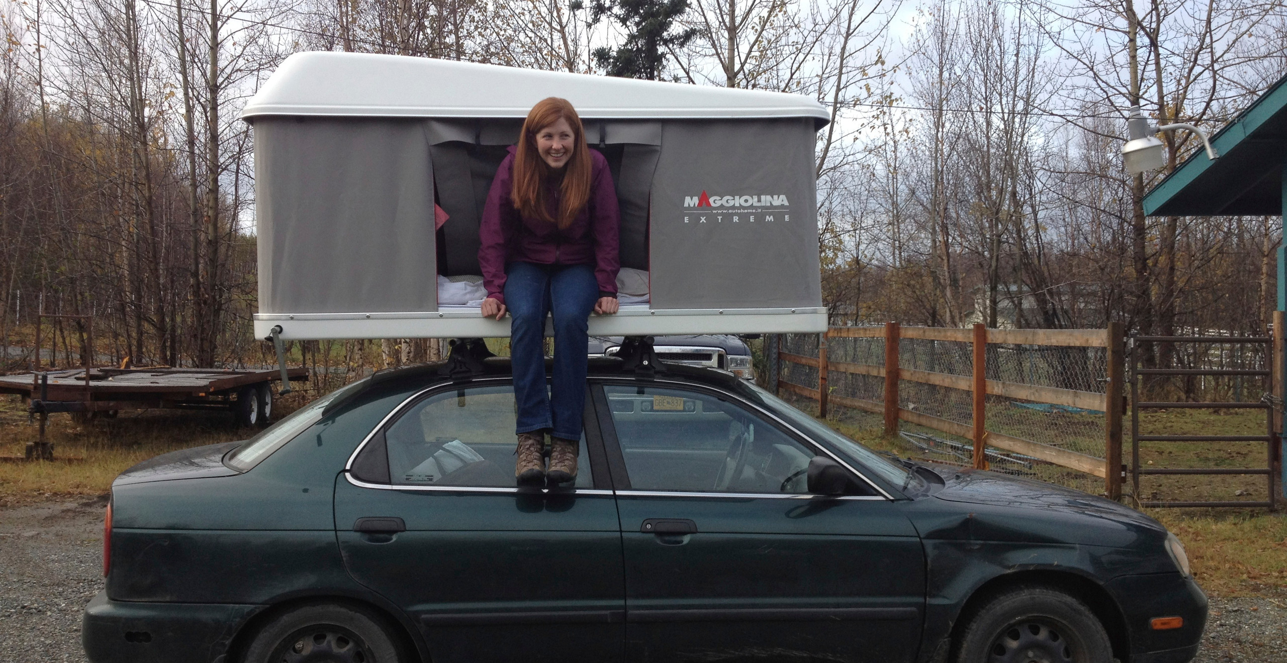 it arrived before the truck was finished so we put it on my little car to try it out