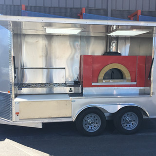 Wood Fired Pizza Unit