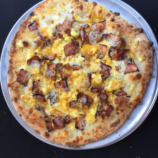 Breakfast Style Wood Fired Pizza