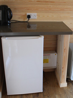 Pod fridge and kettle