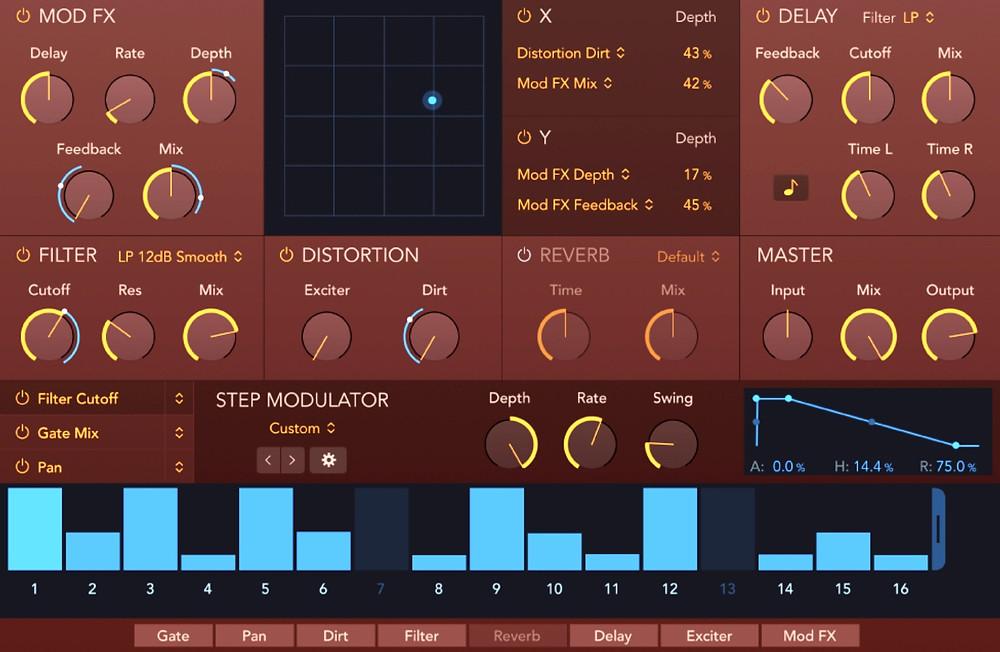 Step FX in Logic Pro X
