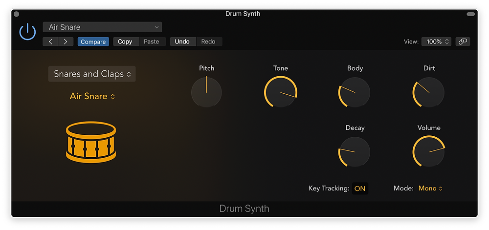 Logic Pro X new drum synth Logic 10.5