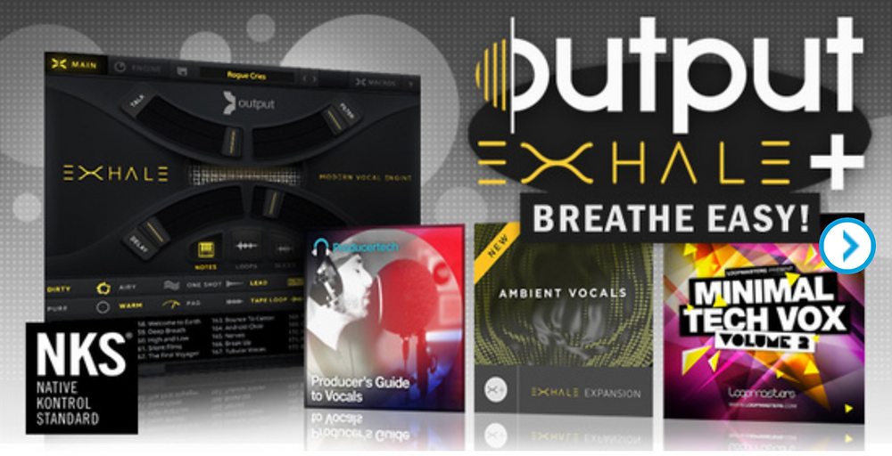 Plugin Boutique Plugin Bundles Exhale by Output plugins and audio samples for music producers