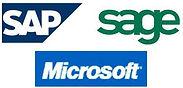 SAP, Sage, Microsoft