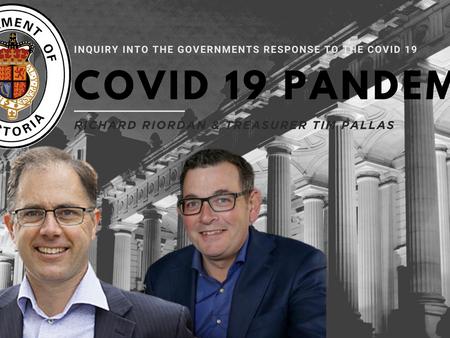 Richard Riordan MP demands the Premier return to the inquiry into Victoria's COVID-19 response.
