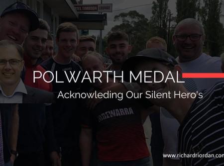 Richard Riordan MP Calls For Polwarth Medal Nominations 2020.