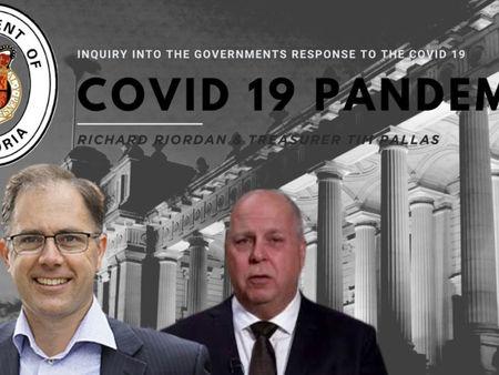 Richard Riordan MP Grills Tims Pallas Over Quarantine Program.
