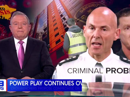 Nine News - Richard Riordan MP Questions Commissioner in PAEC Hearings.  #LovePolwarth, #VoiceOfTheB