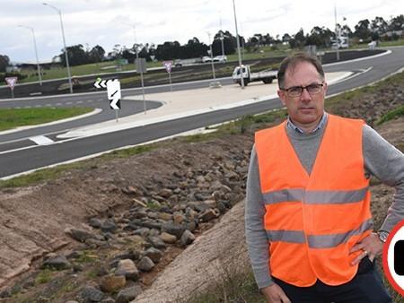 Roundabout still needs attention