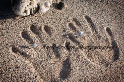 Sand Print Rings