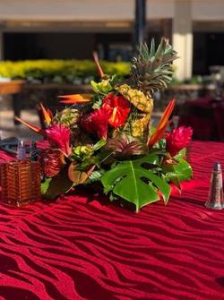 pineapple twist floral