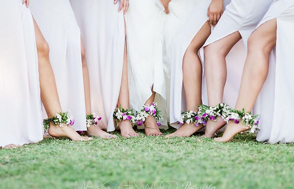ankle garland