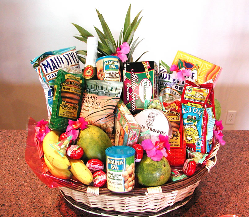 Hawaiian Gift Baskets - ktrdecor.com