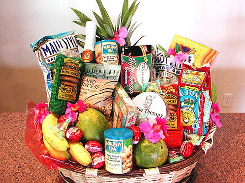 Ultimate Snack Hawaiian Gift Basket