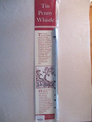 Tin Penny Whistle