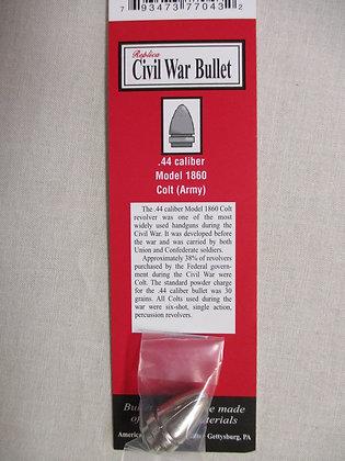 .44 Caliber Civil War Bullet