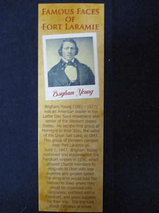 Brigham Young Bookmark
