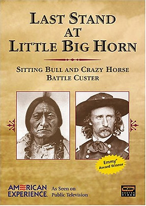 Last Stand At Little Big Horn DVD