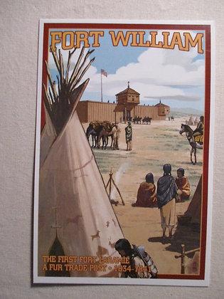 FORT WILLIAM POST CARD