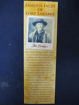 Jim Bridger Bookmark