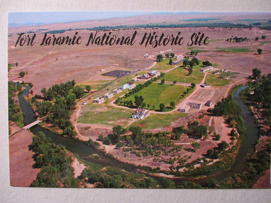 FORT LARAMIE NATIONAL HISTORIC SITE POST CARD