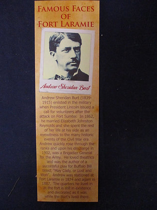 Andrew Burt Bookmark