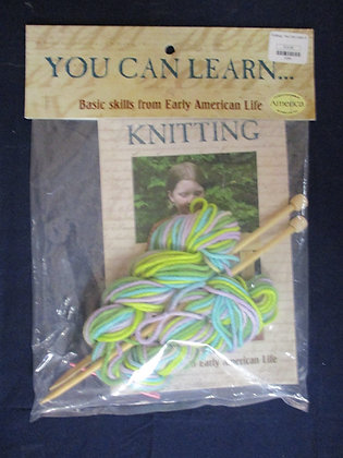 You Can Learn Knitting