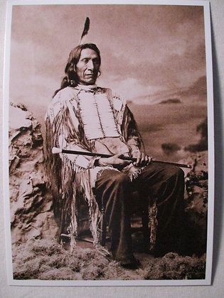 RED CLOUD POST CARD