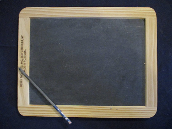 HISTORIC SLATE AND PENCIL