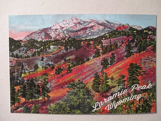 LARAMIE PEAK POST CARD
