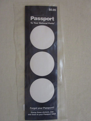 PASSPORT CANCELLATION STICKERS
