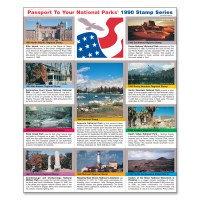 1990-1999 Passport Stamp Set