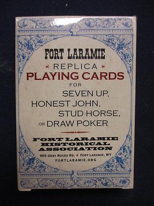 "Fort Laramie ""Replica"" Playing Cards"