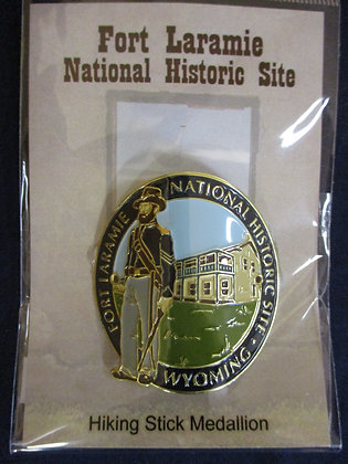 Soldier Hiking Stick Medallion
