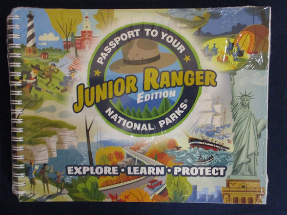 Junior Ranger Passport Book