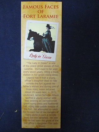 Lady in Green Bookmark