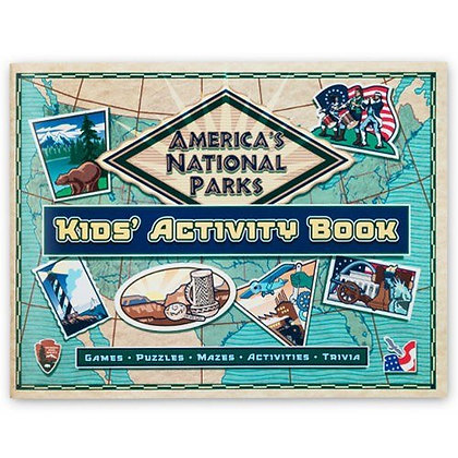 America's National Parks, Kid's Activity Book: Games, Puzzles, Mazes, Activities